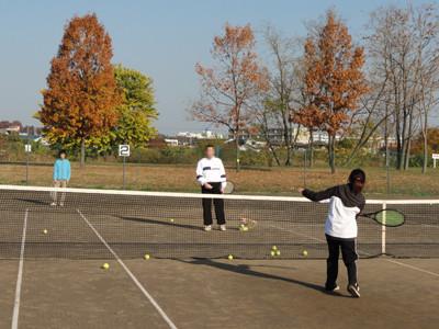 テニスレッスン−2
