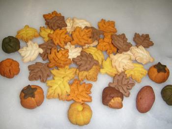 秋のクッキー