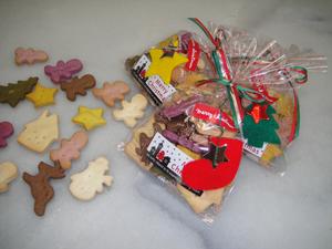 犬クリスマスクッキー