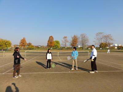 テニスレッスン−1