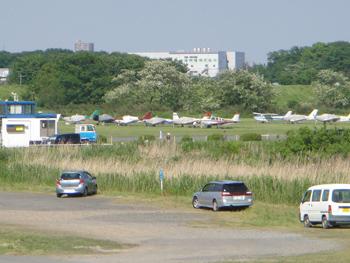 HONDA飛行場