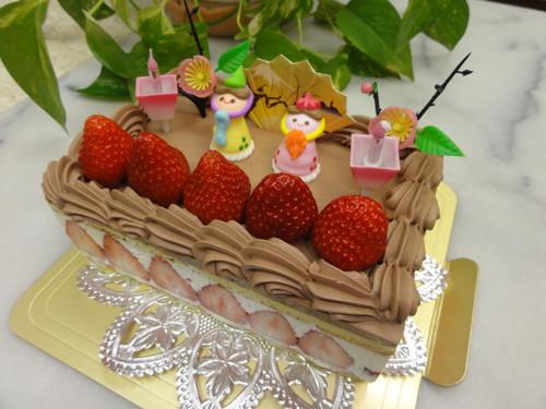ひな祭りケーキ・ガトー