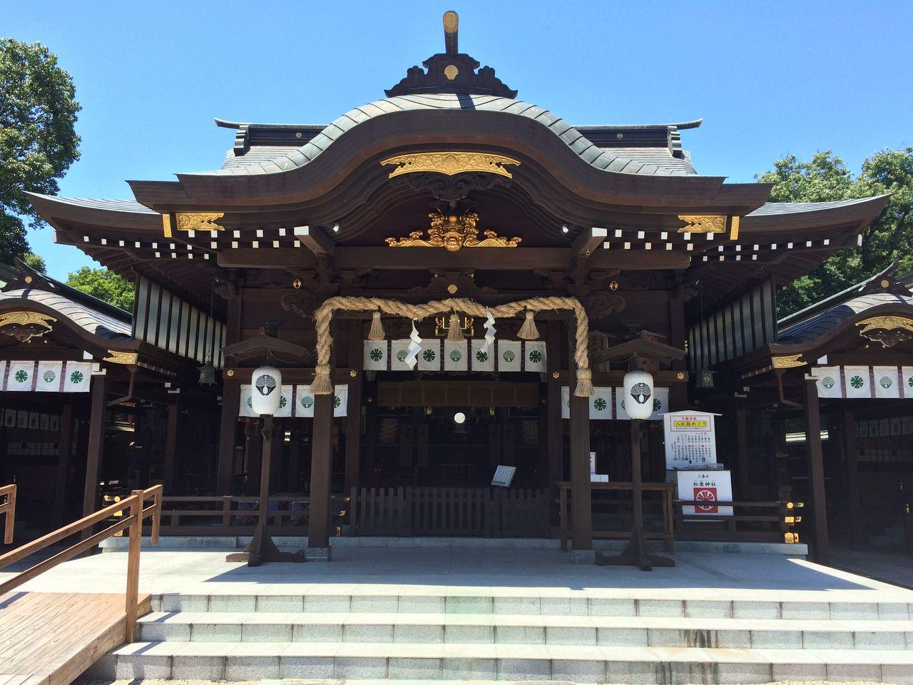 松原神社/佐賀県佐賀市 : まほろばを巡る