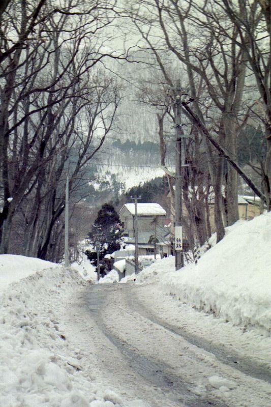 1977年2月10日山小屋遠景