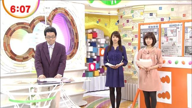 加藤綾子 めざましテレビ 山崎夕貴 生野陽子 06