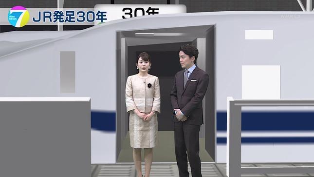 橋本奈穂子 NHKニュース7 18
