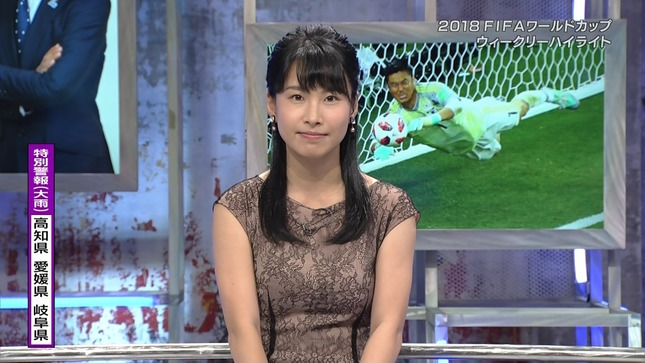 澤田彩香 2018FIFAワールドカップウイークリーハイライト 3