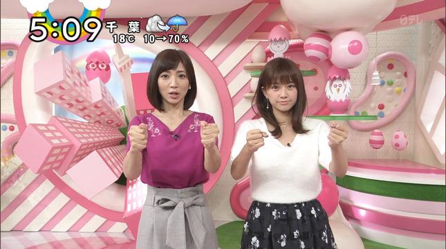 中川絵美里 Jリーグタイム Oha!4 15