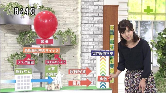 増井渚 ウェークアップ!ぷらす 9