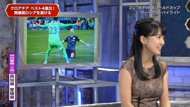 澤田彩香 2018FIFAワールドカップウイークリーハイライト 11