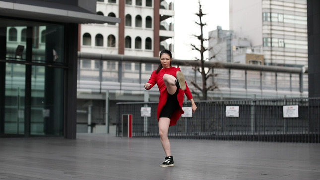 住田紗里アナが本気でフル尺踊ってみた 女子アナダンス部 10