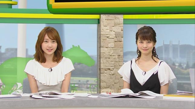 高見侑里 高田秋 BSイレブン競馬中継 くりぃむクイズミラクル9 2