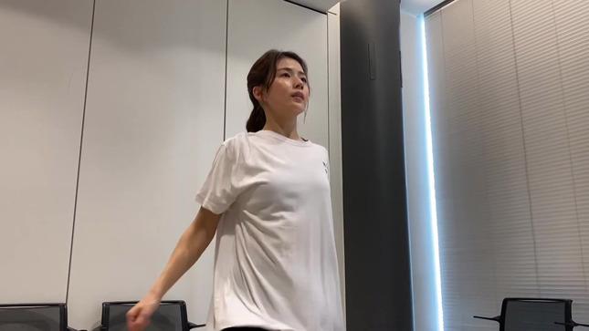田中萌アナ10日間の記録 女子アナダンス部 4