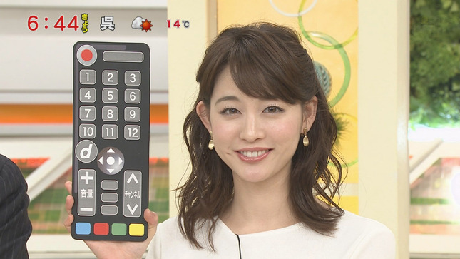 新井恵理那 グッド!モーニング ニュースキャスター 13