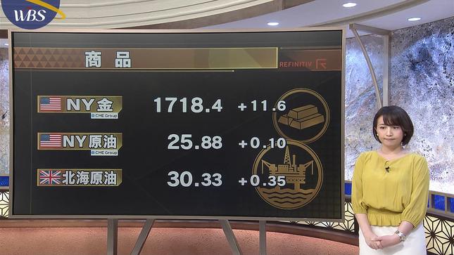 相内優香 ワールドビジネスサテライト 7