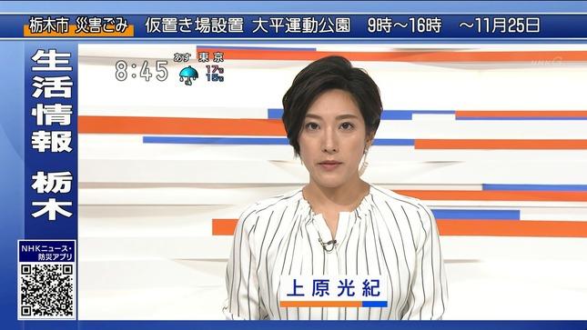 上原光紀 NHKニュース7 首都圏ニュース 即位礼正殿の儀 8