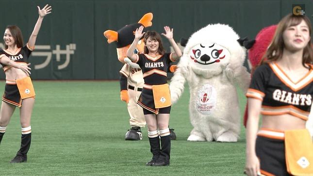尾崎里紗 プロ野球「巨人×広島」 7
