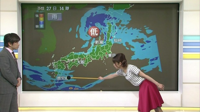 寺川奈津美 ニュース7 10