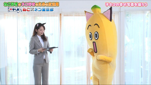 竹﨑由佳 BSキャッ東 ねこ×ネコ宣伝部 10