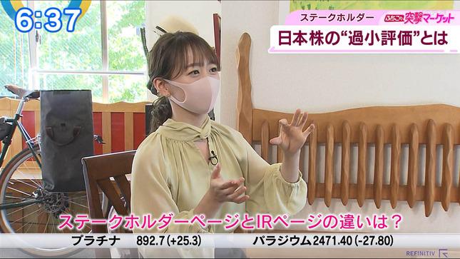 片渕茜 ニュースモーニングサテライト 18