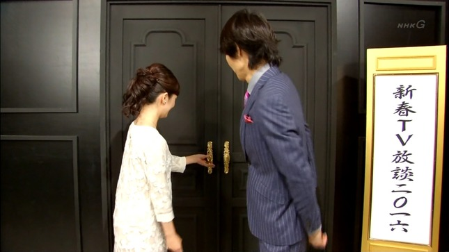 首藤奈知子 新春テレビ放談2016 01