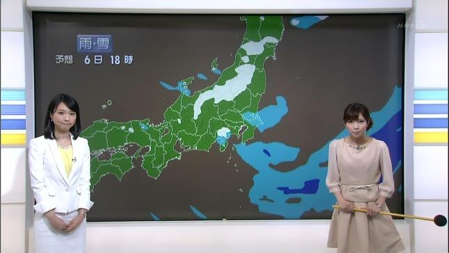 守本奈実 NHKニュース7 寺川奈津美 07