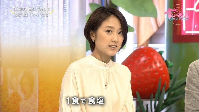 近江友里恵 あさイチ 食の起源 12