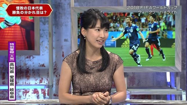 澤田彩香 2018FIFAワールドカップウイークリーハイライト 6