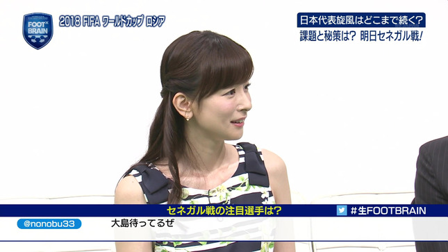皆藤愛子 FOOT×BRAIN 7