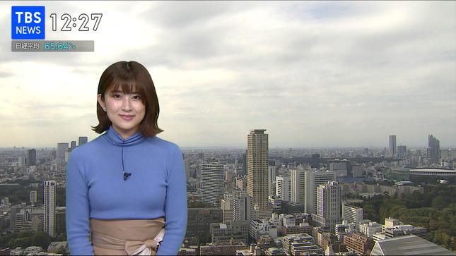 與猶茉穂 ウィークエンドウェザー TBSニュース はやドキ! 15