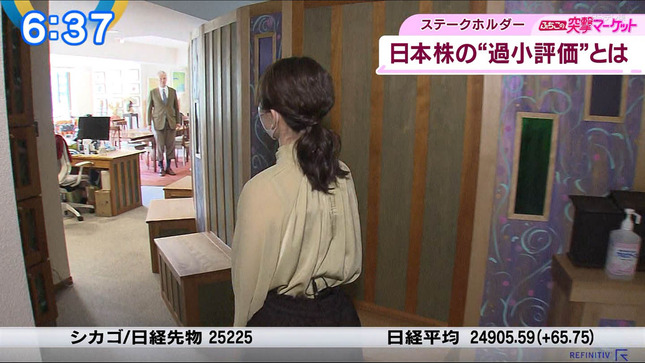 片渕茜 ニュースモーニングサテライト 15