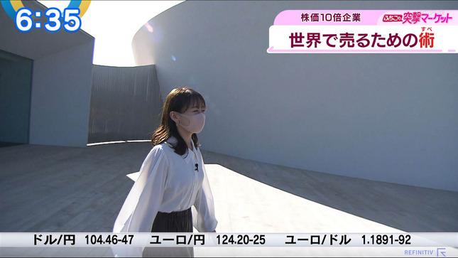 片渕茜 ニュースモーニングサテライト 4