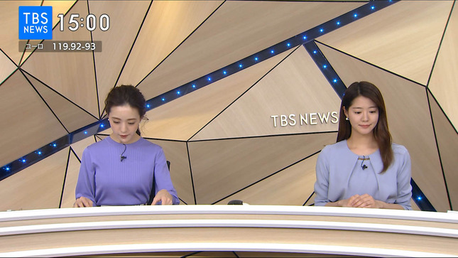古谷有美 TBSニュース 毎日がスペシャル! 8
