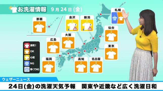 角田奈緒子 ウェザーニュースLiVE 11