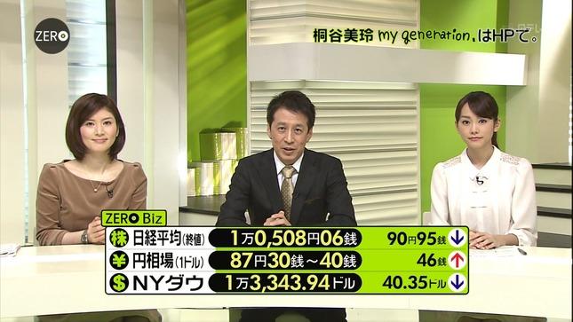 鈴江奈々 桐谷美玲 NEWS ZERO キャプチャー画像 14