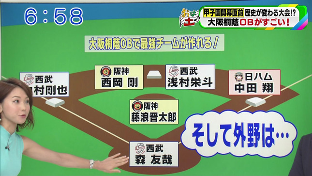 ヒロド歩美 速報!甲子園への道 おはよう朝日土曜日です 4