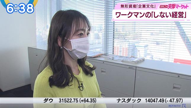 片渕茜 ニュースモーニングサテライト 8