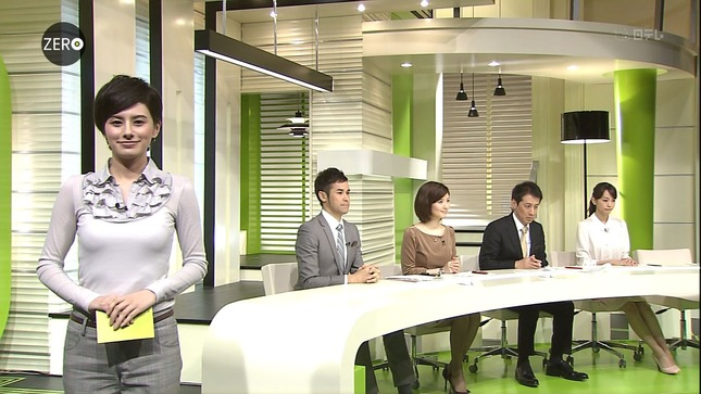 鈴江奈々 桐谷美玲 NEWS ZERO キャプチャー画像 12