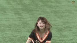 尾崎里紗 プロ野球「巨人×広島」 24