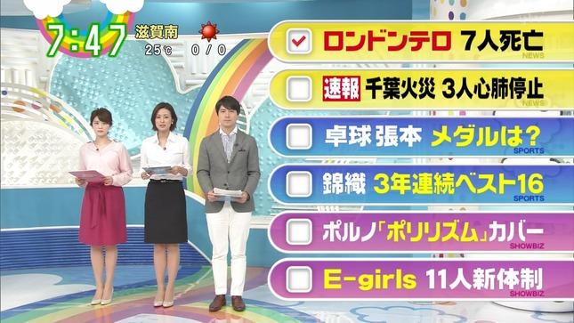 徳島えりか 郡司恭子 ZIP! 15