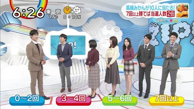 熊谷江里子 團遥香 ZIP! 2