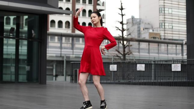 住田紗里アナが本気でフル尺踊ってみた 女子アナダンス部 14