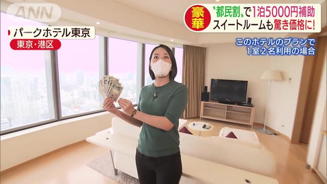 矢島悠子 スーパーJチャンネル 12