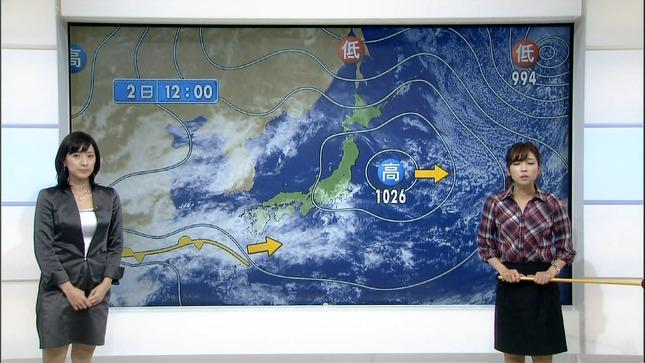 小郷知子 寺川奈津美 NHKニュース7 06