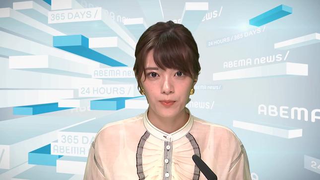 三谷紬 Abema的ニュースショー 2