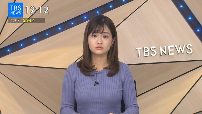 篠原梨菜 TBSニュース 1番だけが知っている 12