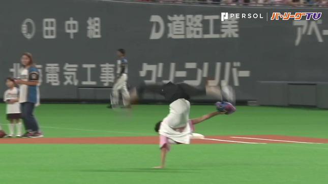 畠山愛理 日本ハム-巨人 始球式 11