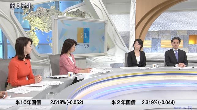 秋元玲奈 ニュースモーニングサテライト 11