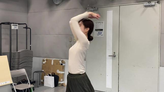 下村彩里 女子アナダンス部 練習編 19