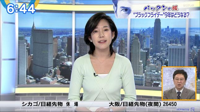 西野志海 ニュースモーニングサテライト 16